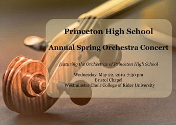 PHS Spring Orchestra Concert