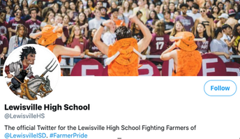 Lewisville HS Twitter Feed