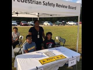 Ballard-Hudson's FBLA and FCCLA Assists with Pedestrian Safety