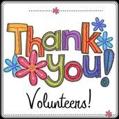 Thank You Volunteers!