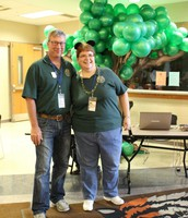 Jeff Jostpille, Ft Jennings Student Council Advisor & Connie Miley, OASC Executive Director