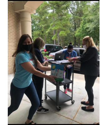 Thank you for our PTA distribution of yearbooks!