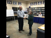 Fawn Custer, Oregon Substitute Teacher of the Year