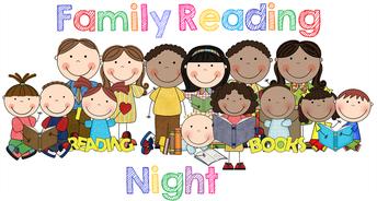 Family Reading Night, Thurs 3/5
