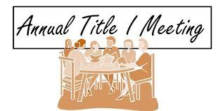 IES Annual Title I Meeting - October 27