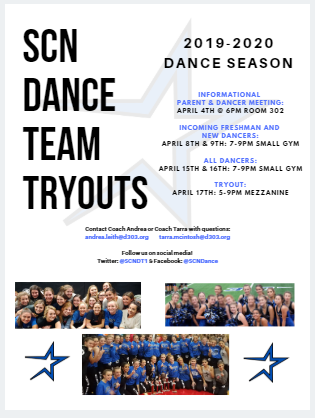 St. Charles North Dance Team Tryouts
