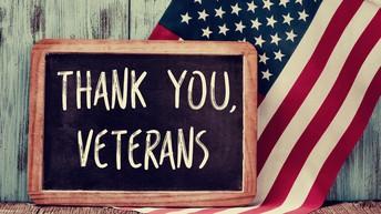 Veteran's Day Announcement
