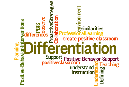 Link to differentiated output hierarchy, caseload analysis plans and other materials related to differentiation.