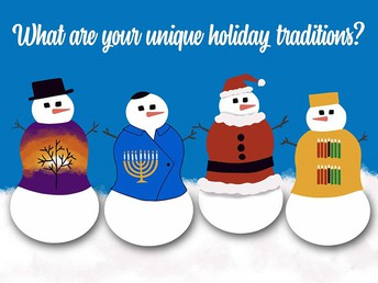 Please share your Holiday Traditions