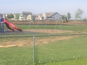 Liberty Lightning Softball Field Takes Up 1/2 of 1&2 Playground