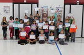 Perfect Attendance for the month of September!