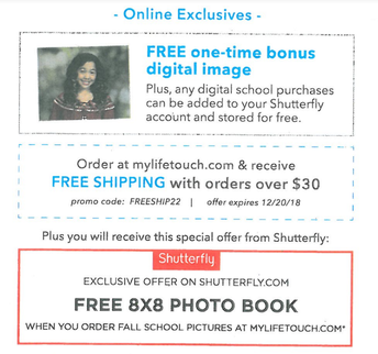 Get Your Free 8x8 Photo Book