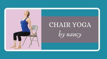 Chair Yoga by Nancy