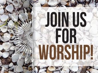 INDOOR WORSHIP SUNDAY, JANUARY 24