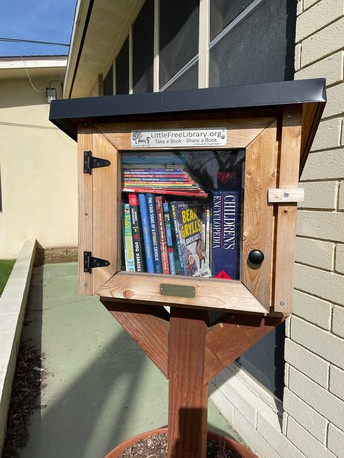 Little Free Library- donate or trade books!