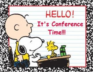 Monday, October 8, Professional Development & Parent-Teacher Conference Day