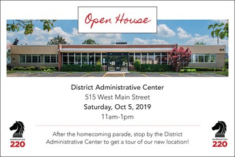 Open house at District Administrative Center