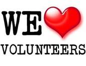 Attention Parent Volunteers / Chaperones