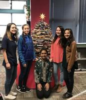 Creative Students Displaying Their Christmas Spirit