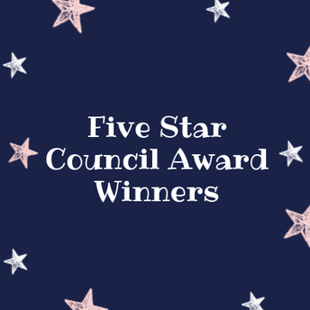 Five Star Council Award Winners