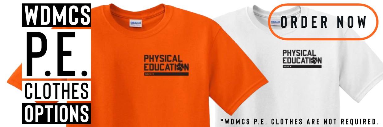 WDMCS PE Clothes