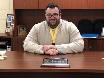 Welcome Mr. Giarratano!