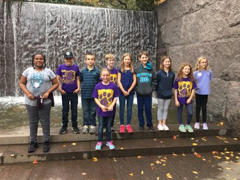 Students at FDR Memorial