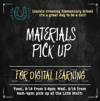 This Week's Most Important Thing - Digital Learning Materials Pick Up