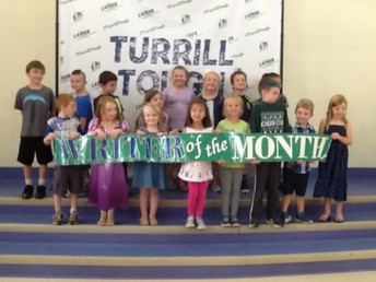 E5-2nd Grade August and September Writers of the Month