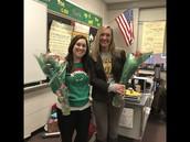 Miss Davis and Mrs. Chiaccio