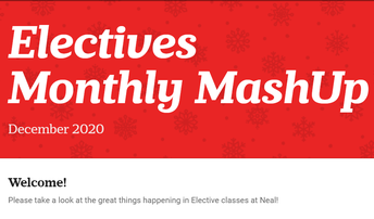 Check out the Electives Newsletter...