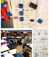 Chemical Reactions with Legos