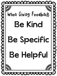 Feedback Chats:  A Peer Feedback Approach