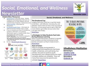 SEL Newsletter