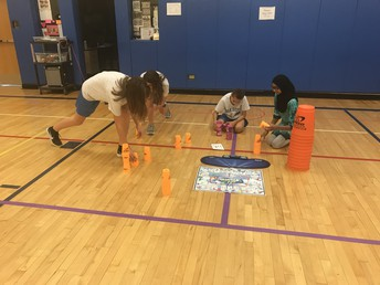Sport Stacking in P.E.