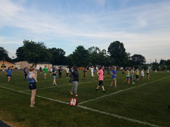 Wednesday's Marching Practice