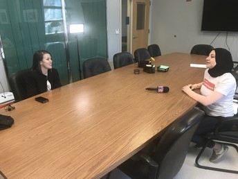 WHS Student, Hoda interviewed by KATU