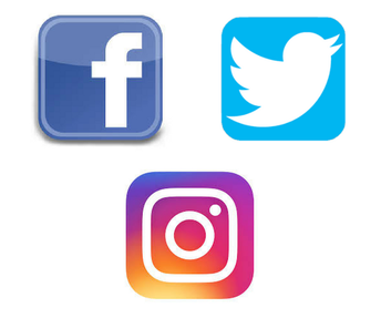Get Connected! Follow us on Facebook, Twitter & Instagram