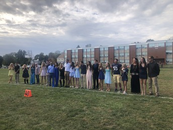 Lower Moreland High School's Homecoming Court