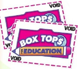 It's time to turn in those Box Tops you've been saving all summer!