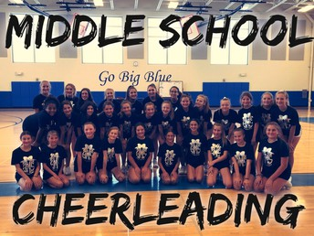 Edwards, Visintainer & Willetts Cheerleading 7th and 8th Graders