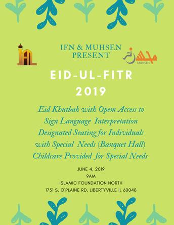 Eid - al- Fitr 2019