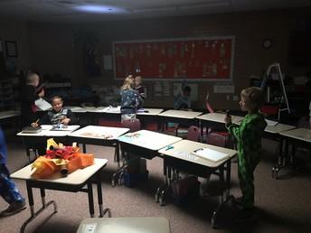 Catching words in Ms. Kraner's Class