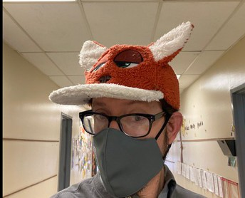 Mr. Myers and his Foxy Hat