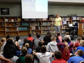 Author Sue Gallion Visits Fifth Grade