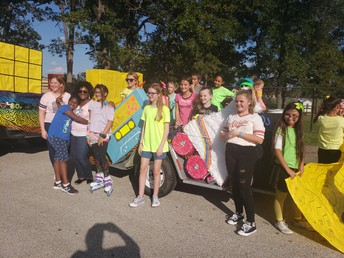 Leadership Club - ORHS Parade 2019