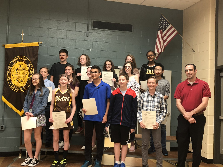 DMS Susan B. Chiaccio Science Fair Winners 2018