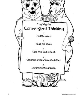 Understanding Convergent Thinking