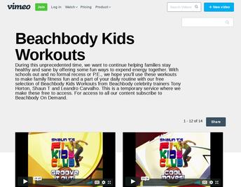 Beachbody Kids Workouts