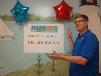 Shout Out to Charles Brenneman of Meadowvale Elementary School!